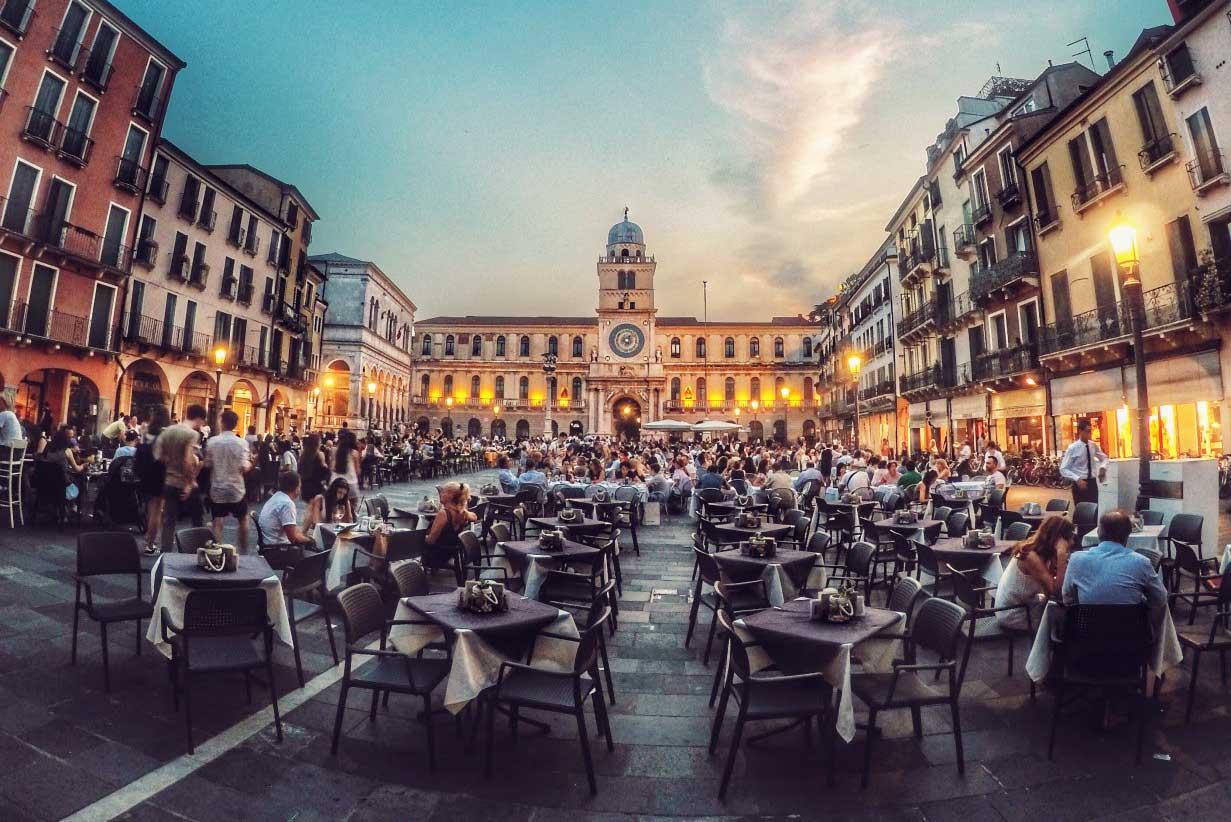 Alberghi Padova Capitale Europea del Volontariato