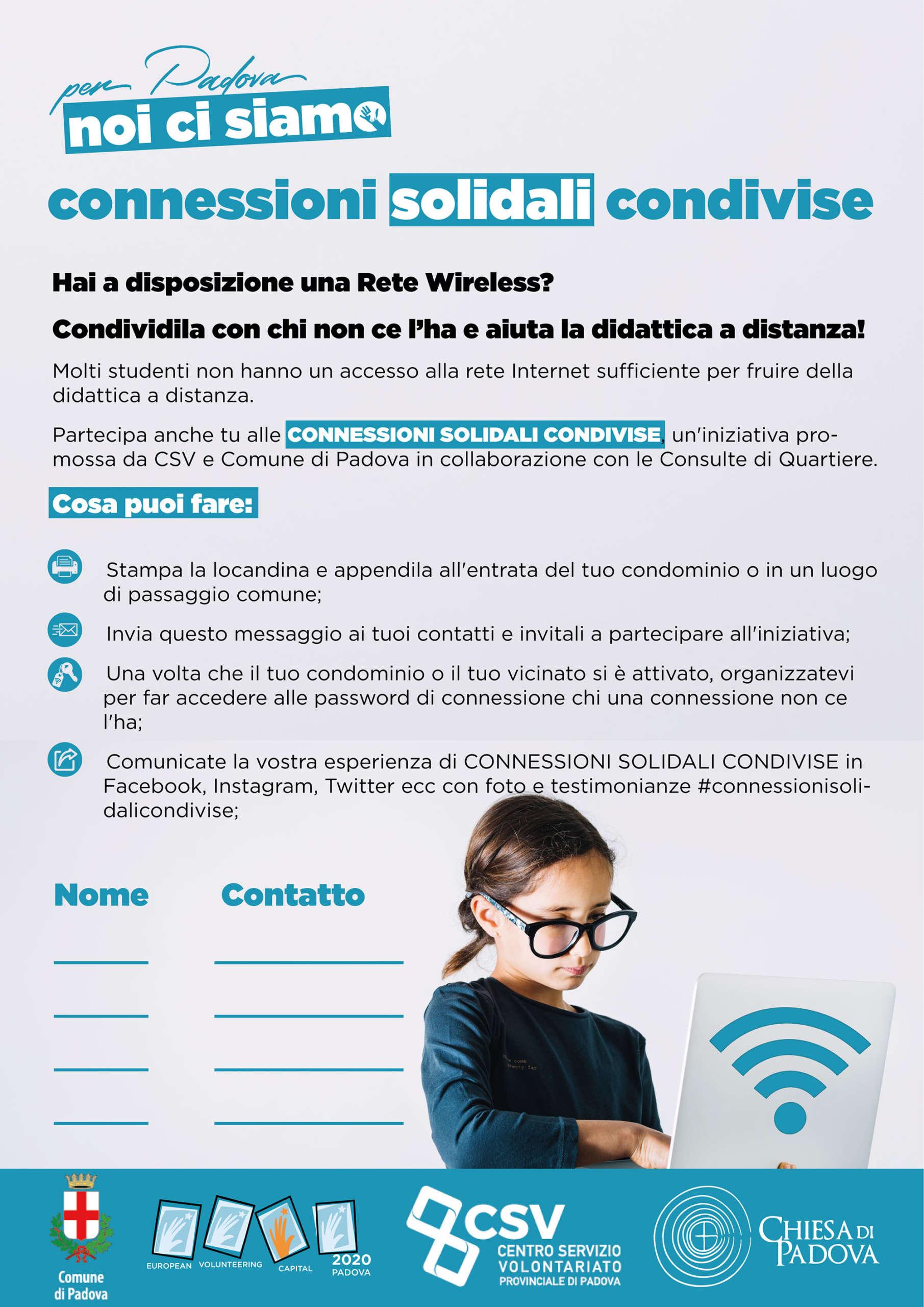 connessioni solidali condivise - Padova