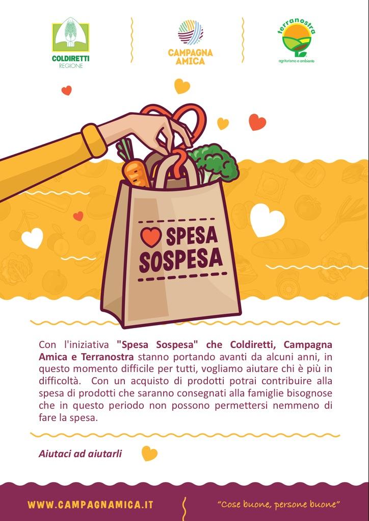 spesa sospesa Padova