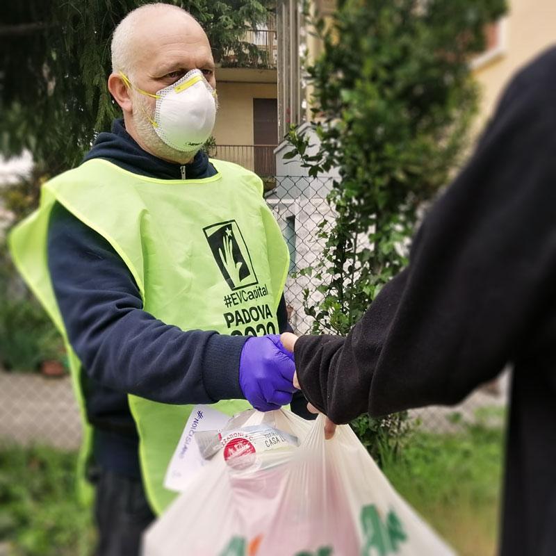 Per Padova noi ci siamo - Iniziativa di volontariato per il coronavirus